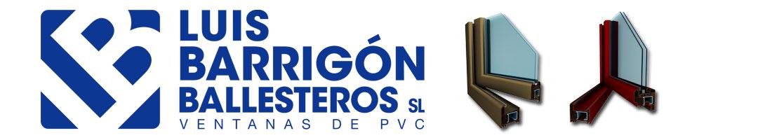 Ventanas Pvc – Luis Barrigón Ballesteros SL – Carpintería PVC Logo
